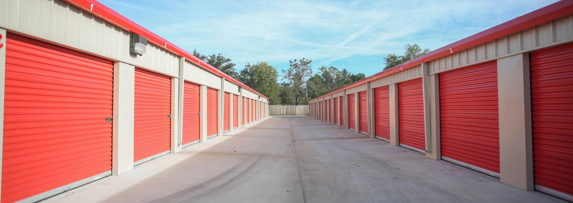 storage units outdoor standard units